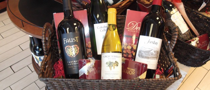 las vegas gift baskets