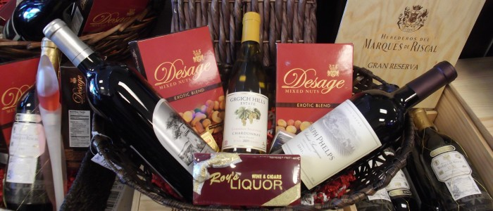 las vegas holiday gift baskets