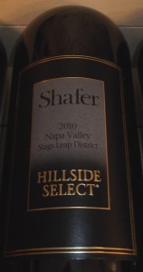 shafer hillside select 2010 summerlin